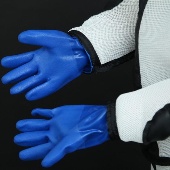 з гумовими рукавицями Скафандр для пасічників