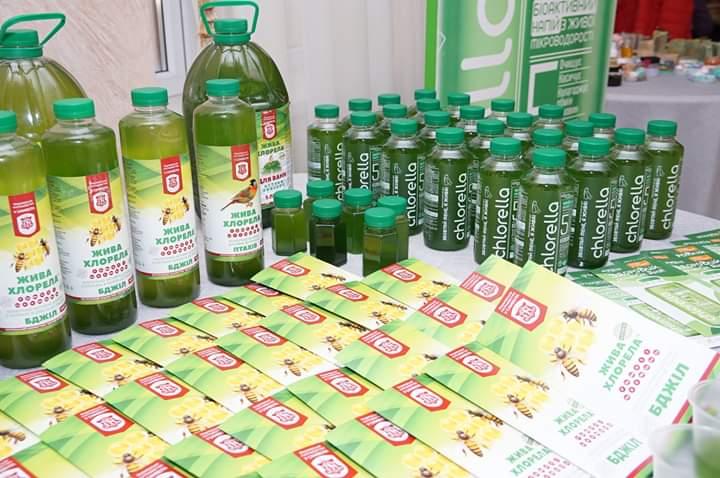 Замовити хлорелу для зеленого меду