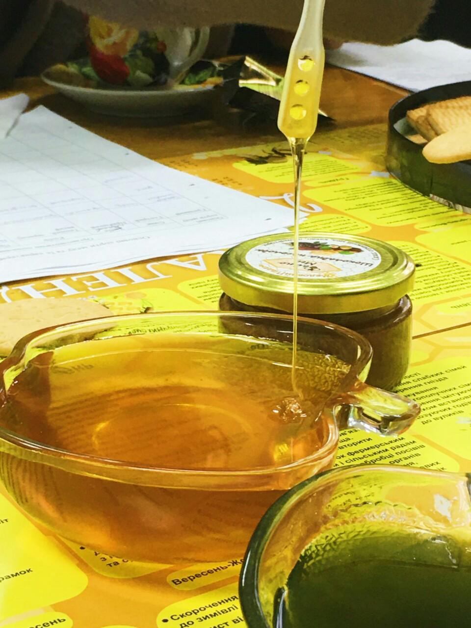 Зелений мед зі спіруліною