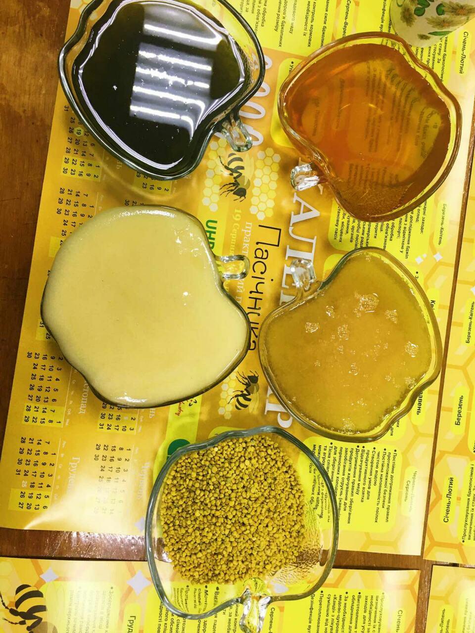 Зелений мед з Хлореллою
