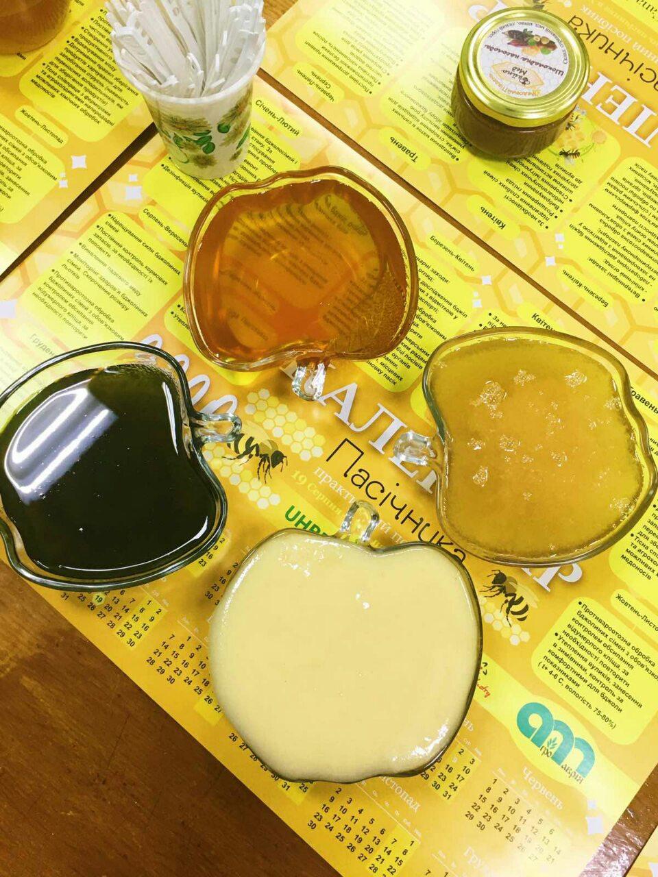 Зелений мед з Хлорелою