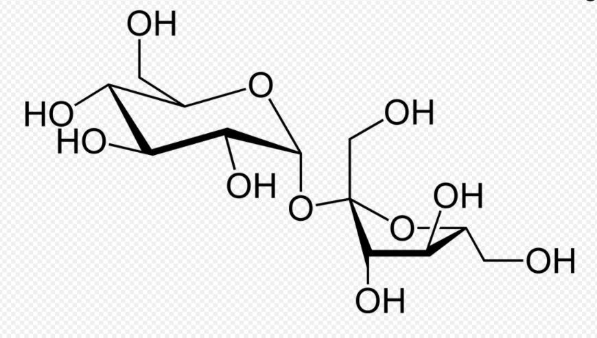 Хімічна формула меду сахароза